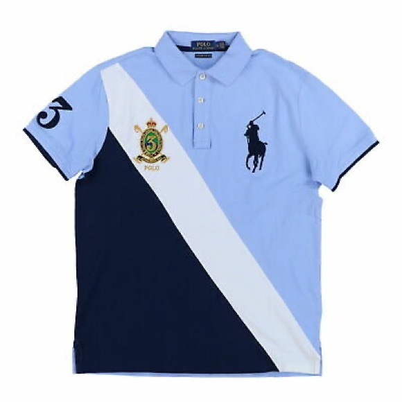 Polo Ralph Lauren Big Pony Custom Slim Shirt L